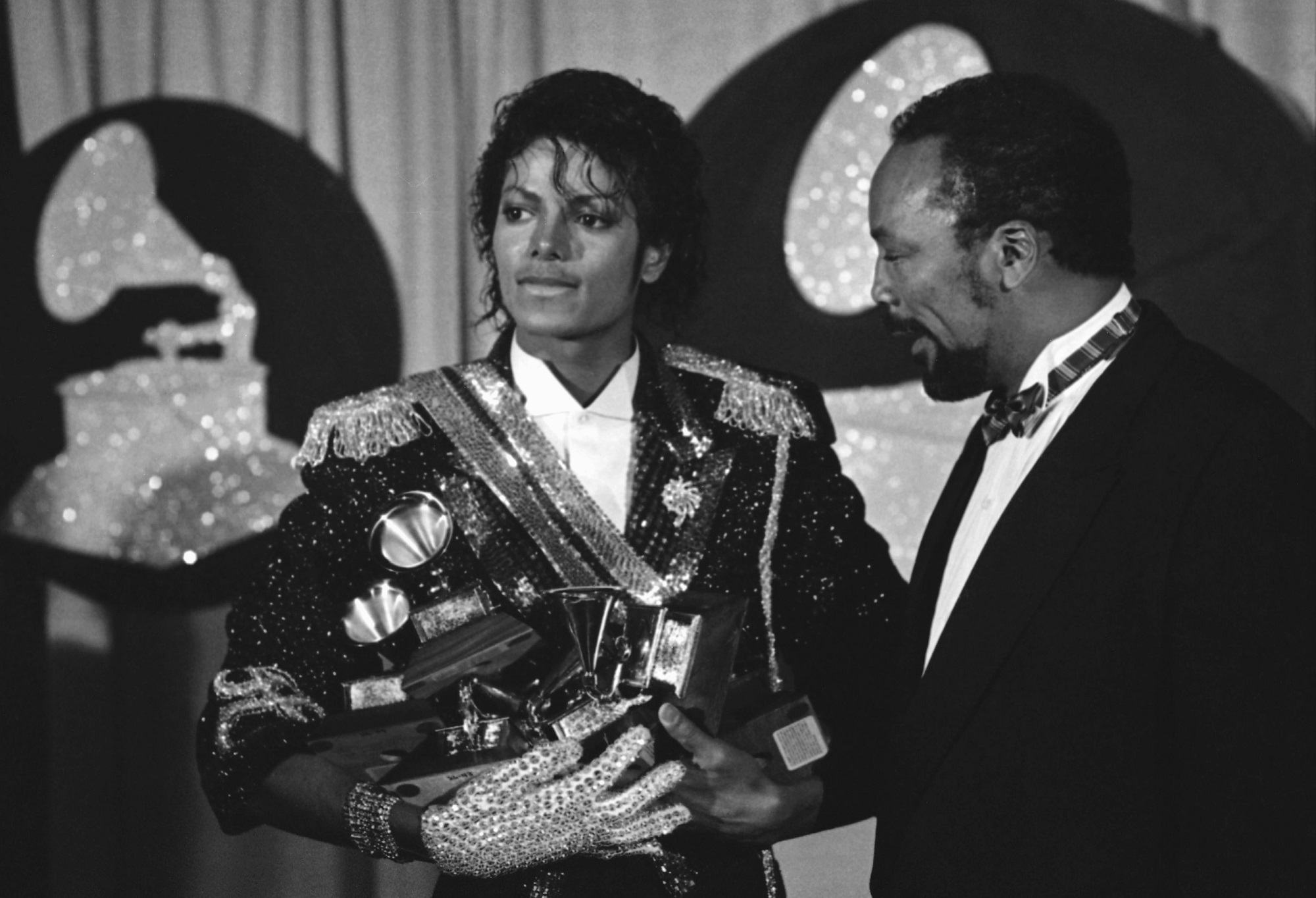 Backstage The 1984 Grammy Awards
