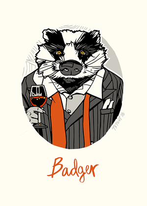 luak, badger