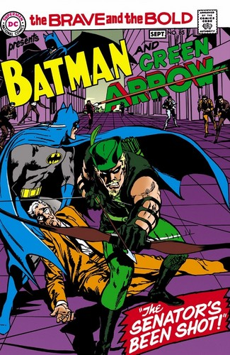 DC Comics wallpaper called Batman and the Green Arrow