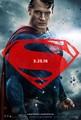 Batman v Superman: Dawn of Justice (2016) Poster - Superman