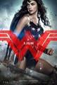 Batman v Superman: Dawn of Justice (2016) Poster - Wonder Woman