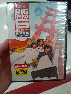 Big Hero 6 The Series DVD