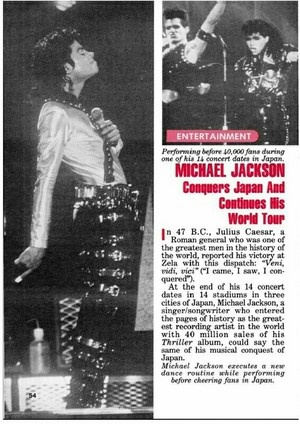 Biggest Superstar MJ conquers Japan