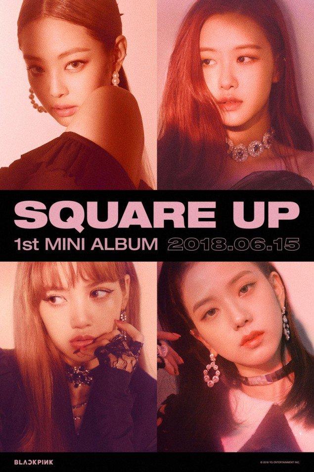 Black 粉, 粉色 releases teaser posters for 'DDU-DU DDU-DU'
