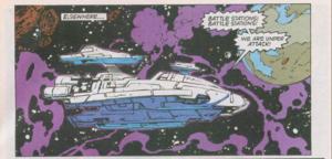 Blasters ship