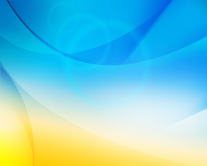 Blue Yellow Theme