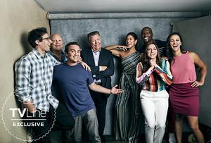 Brooklyn Nine-Nine Cast at San Diego Comic Con 2018 - TVLine Portrait