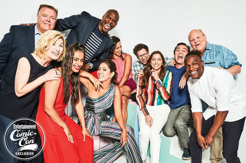 Brooklyn Nine-Nine 壁纸 entitled Brooklyn Nine-Nine and Doctor Who Cast at San Diego Comic Con 2018 - EW Portrait