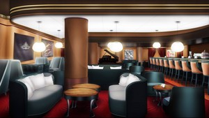 Cafe De La Paix 바탕화면 (Interior)