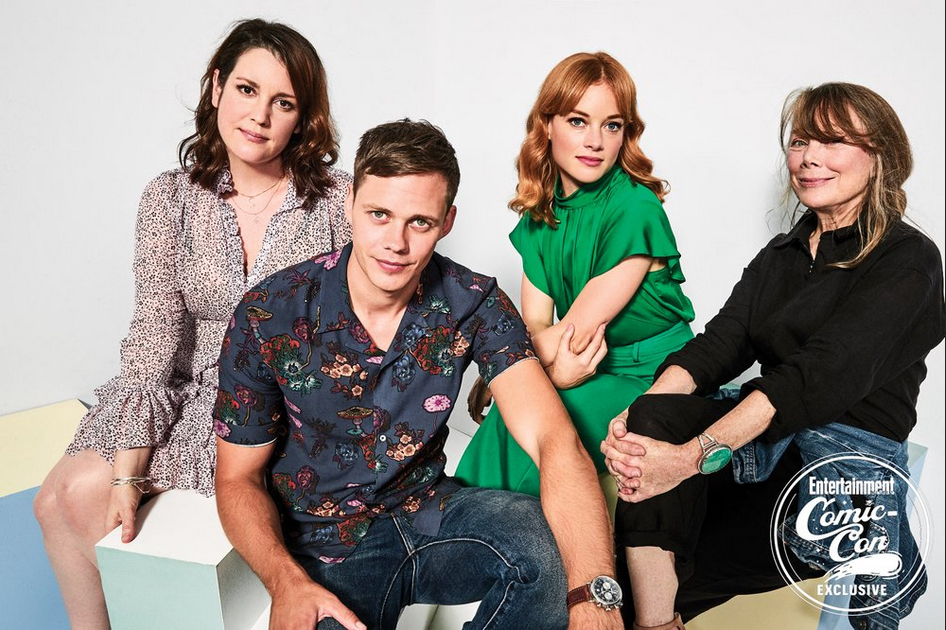 castillo Rock Cast at San Diego Comic Con 2018 - EW Portrait