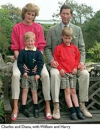 Charles Diana William and Harry The Happy Family 4