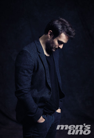 Charlie Cox at Men's Uno Photoshoot