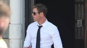 Chris in London on set for new Men In Black movie