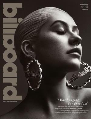 Christina Aguilera for Billboard Magazine [May 2018]