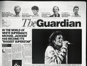 "Circa 1988 | 'The Guardian' called Michael Jackson the ""World's Biggest Superstar"""
