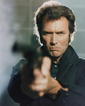 Clint Eastwood as Harry Callahan in magnum Force