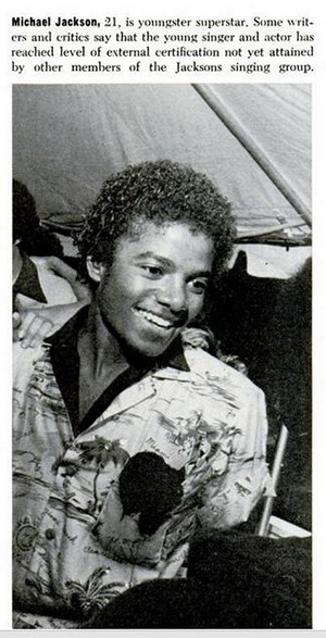 Clipping Pertaining To Michael Jackson