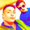 Colton Haynes and Daniel Sharman