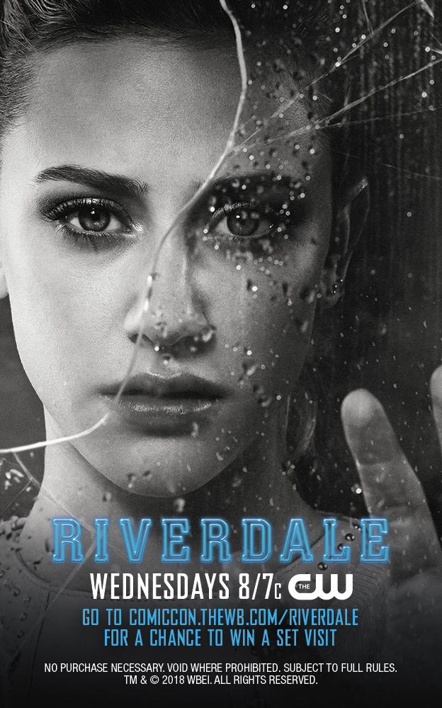 Riverdale 2017 Tv Series Images Comic Con Key Cards Betty Cooper