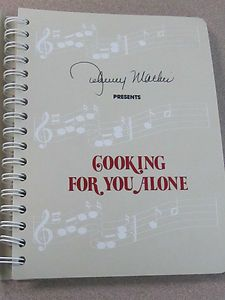 Cookbook Written 由 Johnny Mathis