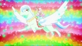 Cure Parfait riding Crystal Pegasus - pretty-cure photo