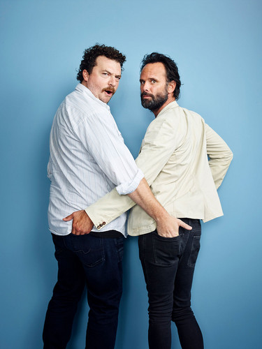 Danny McBride wallpaper called Danny McBride and Walton Goggins - Comic-Con 2016 Portrait - 2016