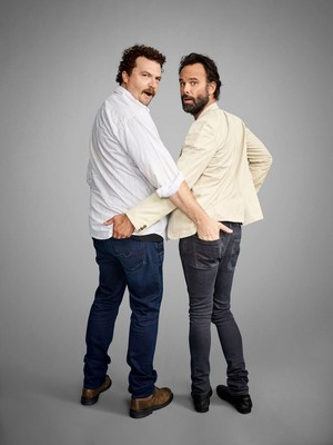 Danny McBride and Walton Goggins - Comic-Con 2016 Portrait - 2016