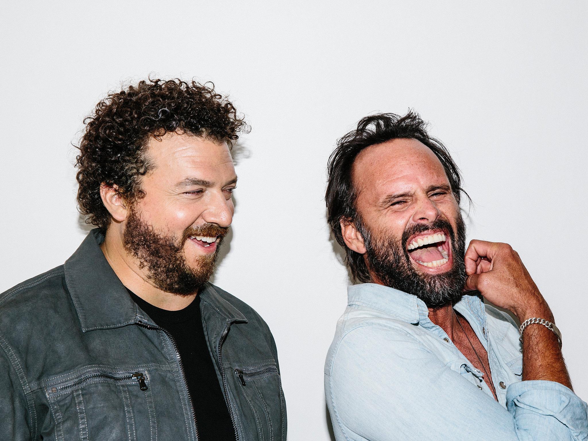 Danny McBride and Walton Goggins - New York Times Photoshoot - 2016