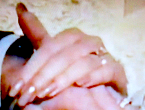The Debra Glenn Osmond 팬 Page 바탕화면 called Debbie's Hand