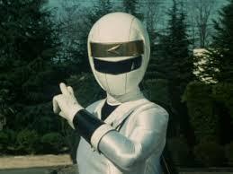 Delphine Morphed As The White Alien Ranger