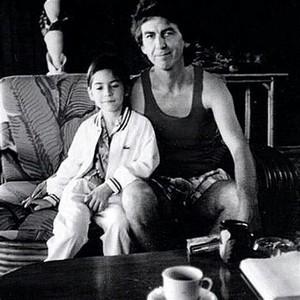 Dhani Harrison and George Harrison