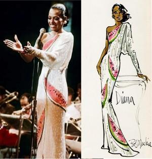Diana's Custom-Made Dress