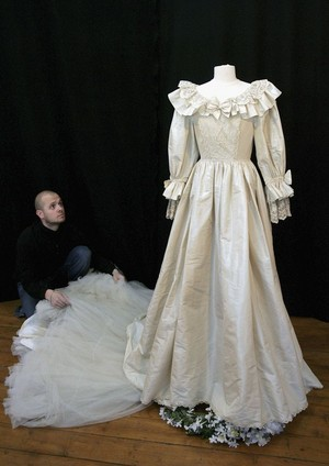 Diana's Wedding Dress