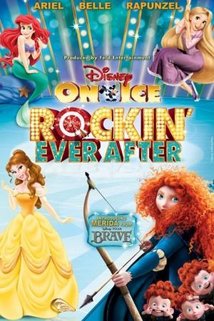 Disney On Ice Tour Poster