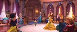 Disney Princesses meet Vanellope