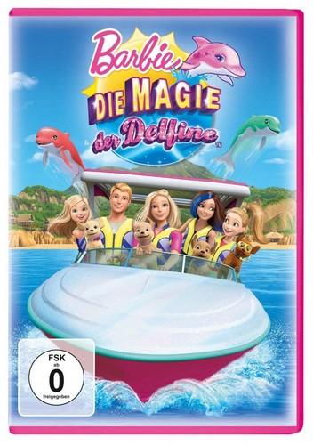 Barbie فلمیں پیپر وال titled ڈالفن Magic dvd cover