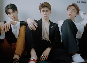 Doyoung Jaehyun Johnny ( NCT) Arena Homme Plus Magazine June Issue 18