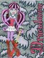 Draculaura - monster-high fan art