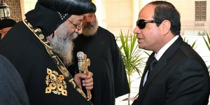 ELSISI AND POPE