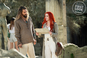 EW's Aquaman First Look - Arthur and Mera