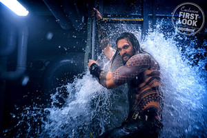 EW's Aquaman First Look - Jason Momoa as Aquaman