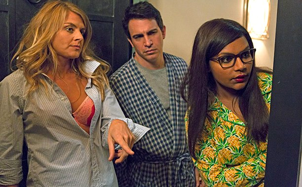 Eliza Coupe as Chelsea in The Mindy Project