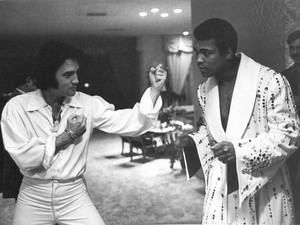 Elvis Presley And Muhammad Ali