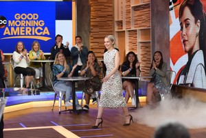 Emilia Clarke's appearance on 'Good Morning America'