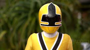 Emily Morphed As The Yellow Samurai Ranger