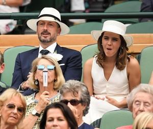 Emma Watson at Wimbledon in লন্ডন [July 14, 2018]