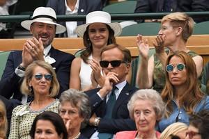 Emma Watson at Wimbledon in london [July 14, 2018]