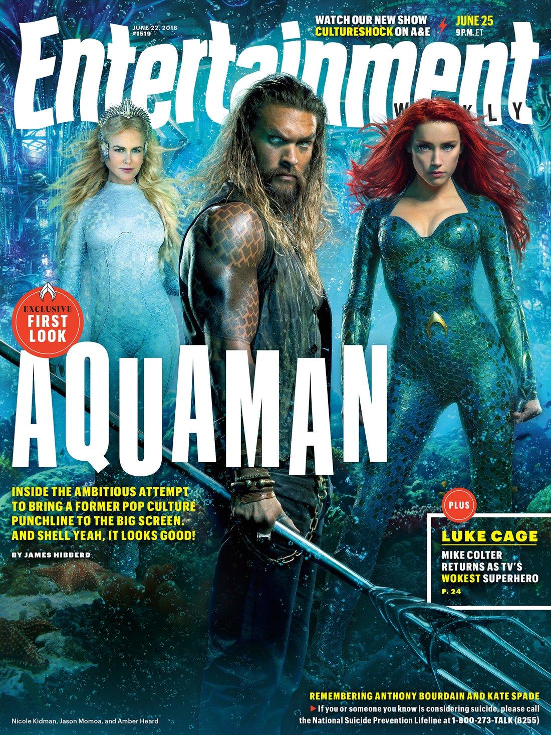 Entertainment Weekly - Aquaman Cover - June 2018