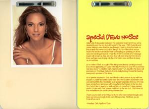 Eva LaRue Official অনুরাগী Club 2005