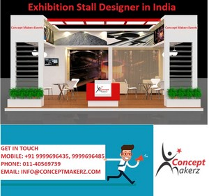 Exhibition stall designer in india